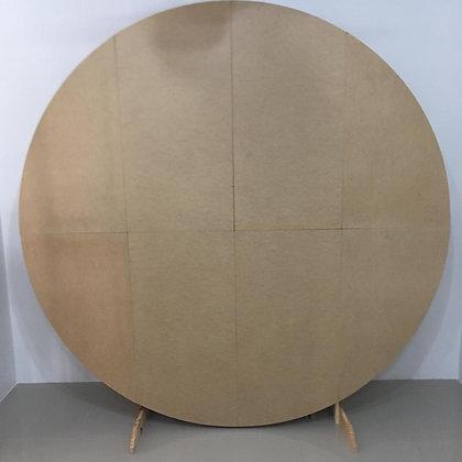 Painel Redondo Forrar Tecido 2,5m