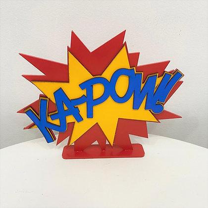 Kapow Placa
