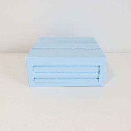 Caixa MDF Azul Claro