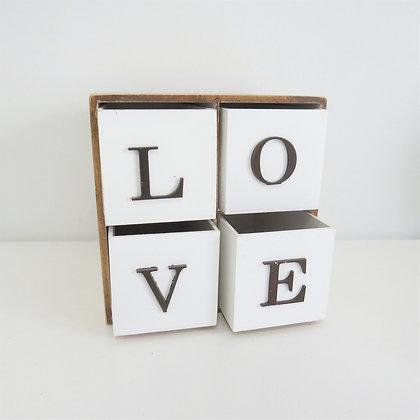 Cômoda Love 4 Gavetas (para mesa)