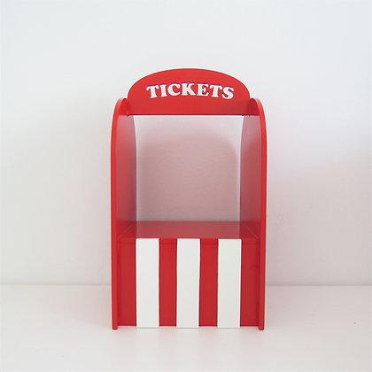 Bilheteria Ticket Vermelha (Circo)