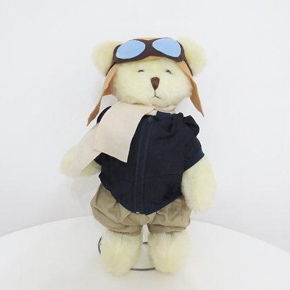 Urso Aviador Pelúcia