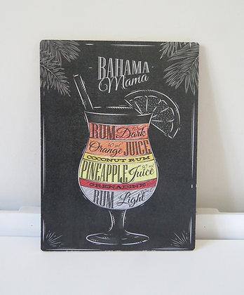 Quadro Boteco Bahama (Boteco)