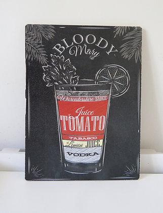 Quadro Boteco Bloody (Boteco)