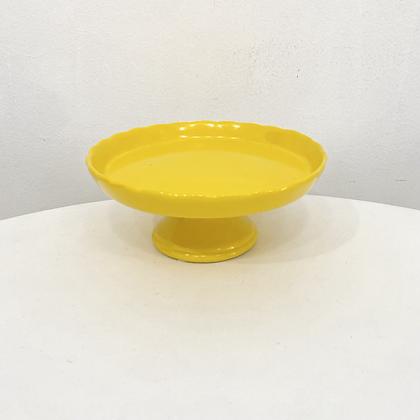 Prato Borda Amarelo