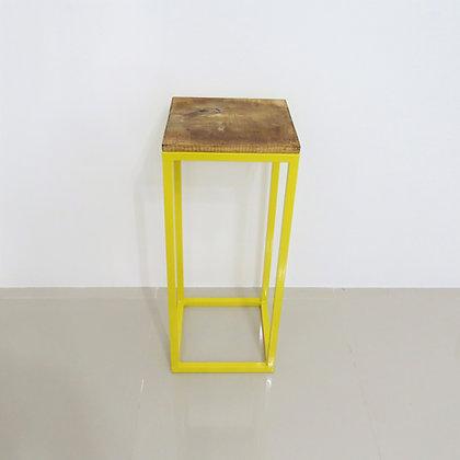 Mesa Cubo Vazado Amarelo 2