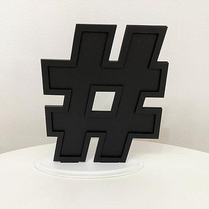 Hashtag Placa