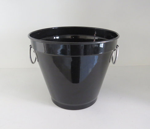 Balde Alumínio Preto P (Boteco)