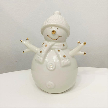 Boneco de Neve Cerâmica