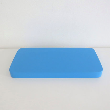 Bandeja Ret Azul Céu M (laqueada)