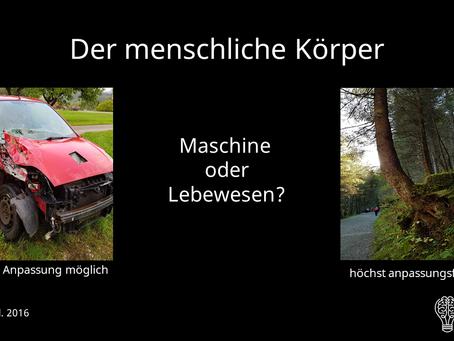 Maschine oder Lebewesen? 🤔