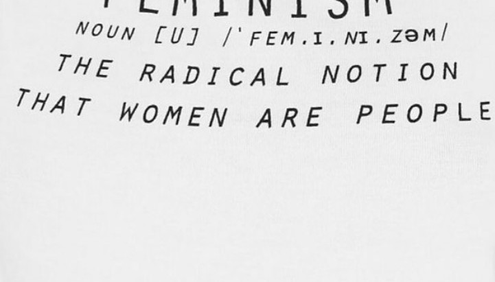 """No, I'm not a feminist"""