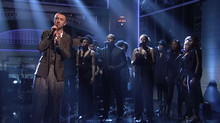 Shavanna sings on SNL with Sam Smith!