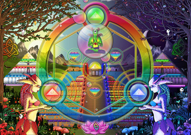 Balancing Omniversal Triptych Alchemy