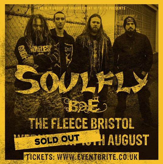 Soulfly sell-out show