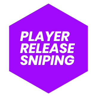 Player Release Sniping