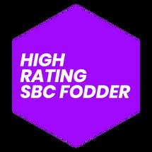 High Rating SBC Fodder