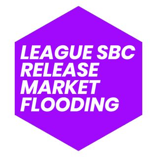 League SBC Release Market Flooding