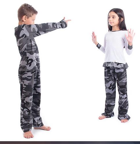 Pijama Camuflado
