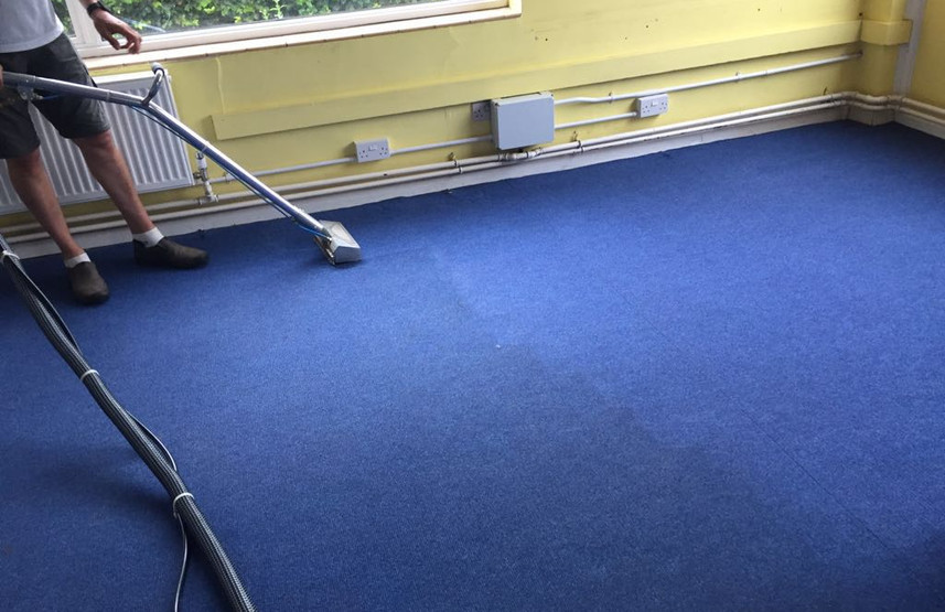 Class room carpet cleaning, Surface Clean Banbury