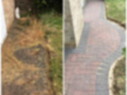 Block paving weed removal and clean by Surface Clean Banbury