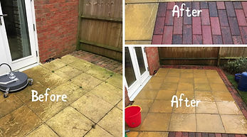 Patio cleaning by Surface Clean banbury