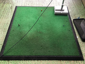 Golf Driving Range Mat Cleaning