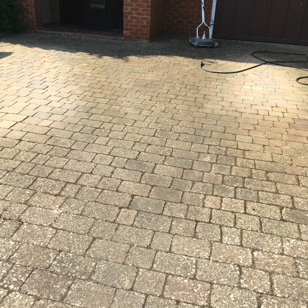 Surface Clean Banbury Drive way cleaning