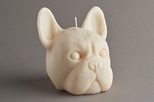 Frenchie candle