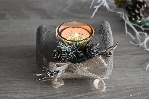 Festive tea light holder
