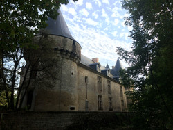 façade ouest du château