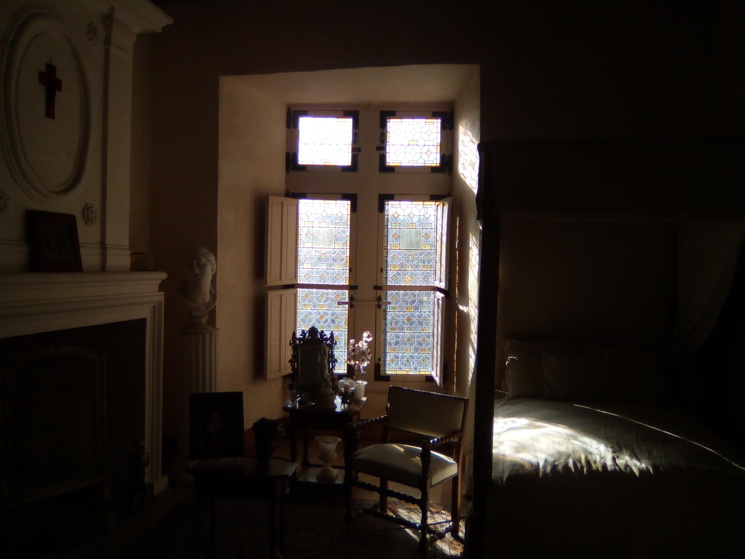 chambre de la marquise de Gallifet