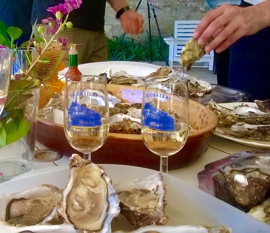 la pause huîtres !