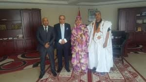 Mayor of nouakchout Mauritania