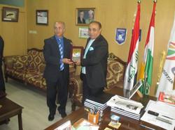 President of the Kurdistan Olympic Commi