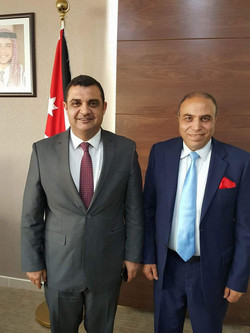 Jordanian Minister of Sport