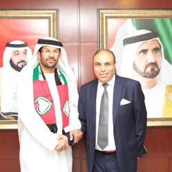 Mr Ghaneem Al Mazroui Minister Delegate.