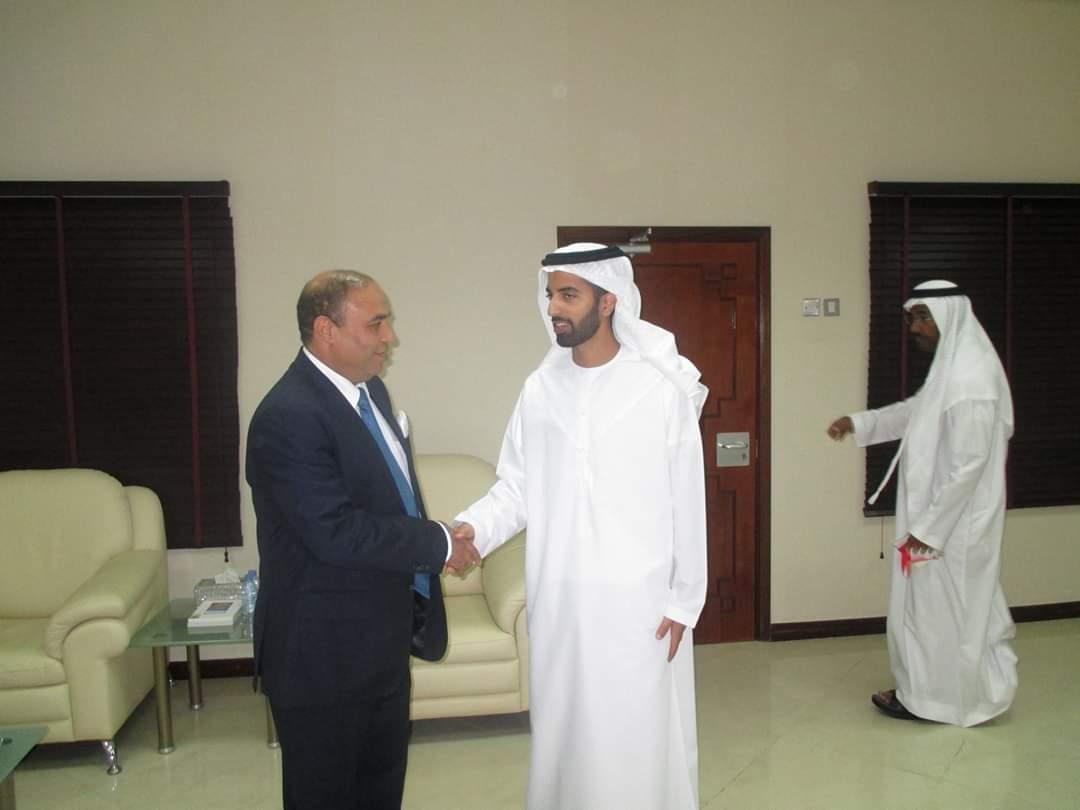 H.H sheikh mohammed bin saud bin saqar el qasimi crown prince of ras al khaimah