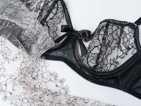 Delicately Bold- Lingerie from Sofia Luzon