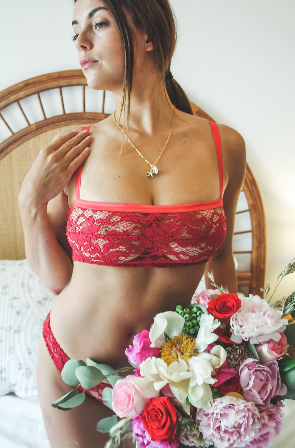 Lace Bralette | PERSEPHONE