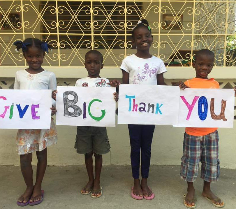 A big thank you from Home for Love kids!