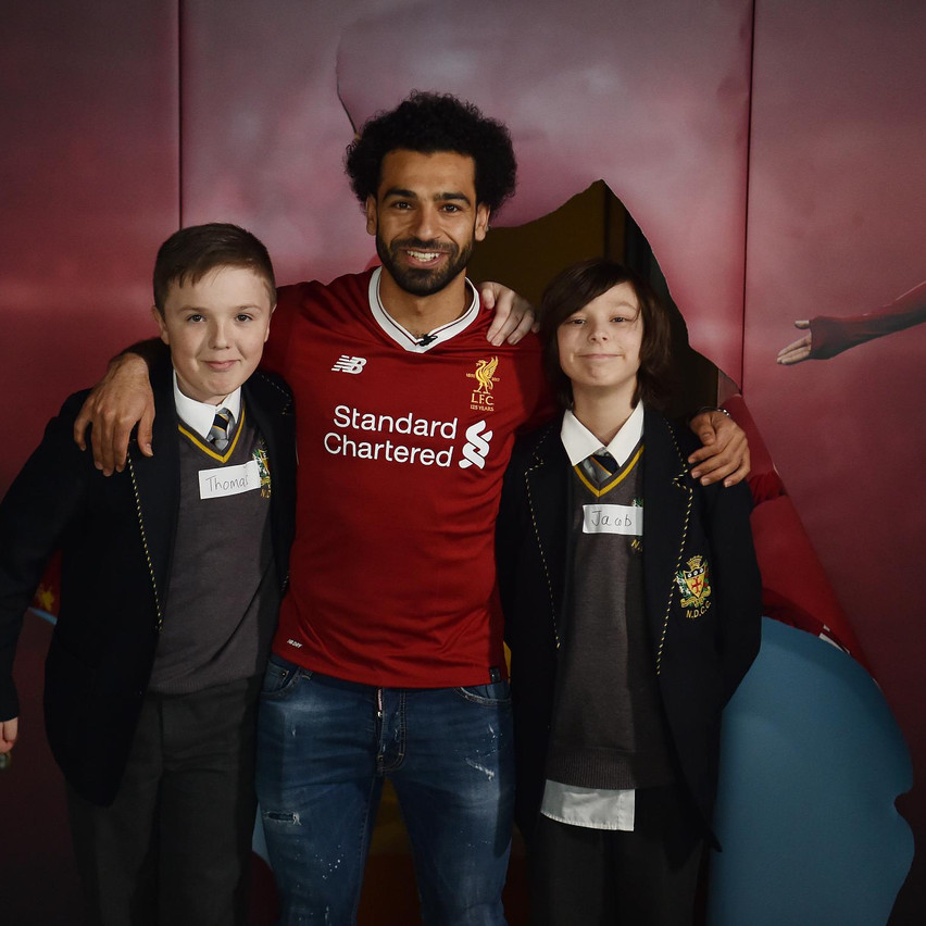 14.03.18 Mohamed Salah Kop Kids 11