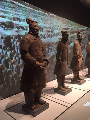History Department Visit to the Terracotta Warriors Exhibit