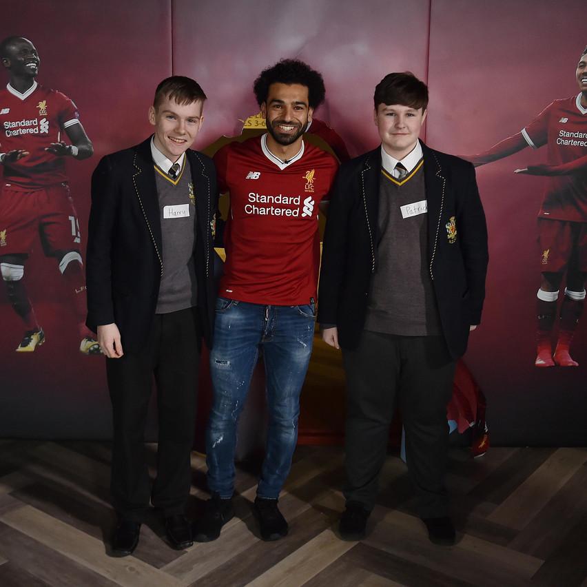 14.03.18 Mohamed Salah Kop Kids 17