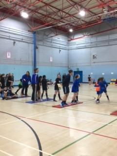 Year 7 & 8 Liverpool Indoor Athletics Event