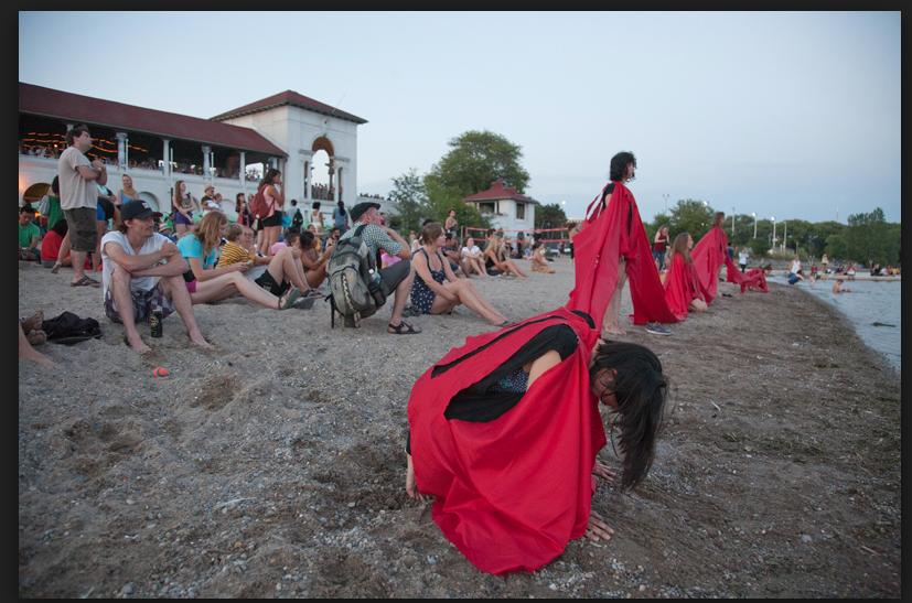 Sunset Performance/Ceremony