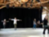 Aimee Dawn Robinson dance dancers in Trace Dance Workshop