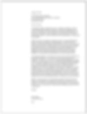 grant cover letter sample