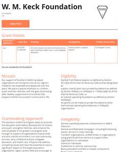 GrantLaunch Foundation Profile