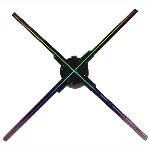 Holograma 3d Led Fan 65 cms